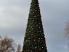 Tannenbaum des Londoner Weihnachtsmarkts im Hyde Park