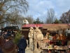 Holzfiguren Stand auf dem Weihnachtsmarkt