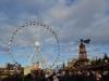 Riesenrad auf dem Weihnachtsmarkt in London