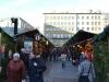 Buden auf dem Christkindlmarkt