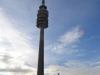 Olympiaturm München bei Sonnenschein