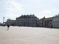 Schloss Amalienborg mit vielen Besuchern