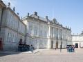 Wachwechsel am Schloss Amalienborg