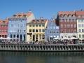 Viel Besuch am Nyhavn