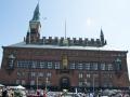 Rathaus Kopenhagens von vorne