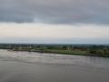 Mit der Mein Schiff 1 auf der Elbe