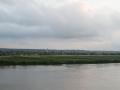 Es wird dunkel auf der Elbe