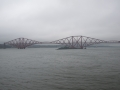 Forth Bridge im Nebel