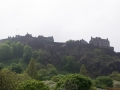Edinburgh Castle im Nebel
