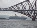 Forth Bridge mit Mein Schiff 1