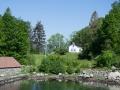 Kleine Häuser am Lysefjord