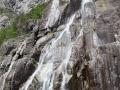 Wasserfall mit Frischwasser für den Lysefjord