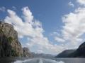 Mit dem Katamaran durch den Lysefjord