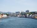 Ausfahrt aus dem Hafen Stavangers