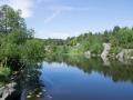Seen oberhalb von Kristiansand