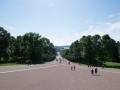 Weg zum Königlichem Schloss Oslo