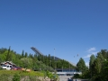 Strahlender Sonnenschein am Holmenkollen