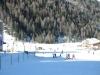 Die Skifahr Übungsstrecke in Sulden