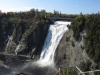 Montmorency Wasserfälle in voller Größe