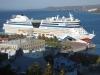 AIDAbella im Hafen Quebecs