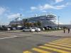 AIDAbella im Hafen Quebec