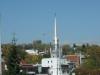 Kirche mit silberner Spitze