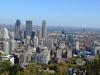 Blick vom Mont Royal über Montreal