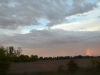 Sonnenuntergang auf dem weg nach Indianapolis 1
