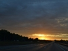 Sonnenuntergang auf dem weg nach Indianapolis 2