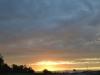 Sonnenuntergang auf dem weg nach Indianapolis 3