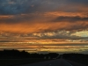 Sonnenuntergang auf dem weg nach Indianapolis 11