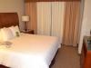 Schlafbereich im Hilton Garden Inn Cleveland