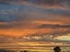 Sonnenuntergang auf dem weg nach Indianapolis 9