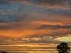 Sonnenuntergang auf dem weg nach Indianapolis 10