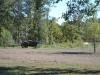 ganz alter John Deere Traktor bei Charleston IL