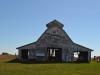 Alte Scheune auf einer Farm bei Charleston, IL