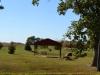 Sehr schöne Landschaft auf einer Farm