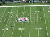 Cheerlader vor dem Spiel der Jets