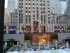 Platz der Eisbahn vor dem Rockefeller Center