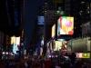 Eine andere Nachtsicht auf den Time Square