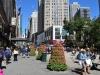 Fußgängerzone in New York