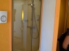 Die Dusche in der Balkonkabine der AidaBella