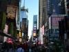 Volle Straßen New York