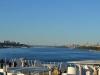 Blick zurück auf den Hudson River