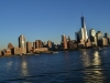 Skyline von New York von der AIDAbella aus mit One World Trace Center