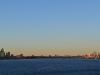 Sonnenuntergang auf dem Hudson River