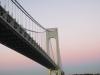 Gleich sind wir unter der Verrazano-Narrows Bridge durch