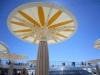 Sonnenschirm auf der AIDAbella