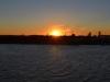 Sonnenuntergang über Boston
