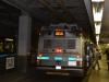 Diesel und Strom Bus in Boston